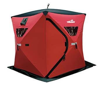 1: Ice Cube 3 Man Portable Ice Shelter by ThunderBay