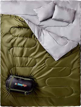 1: Sleepingo Double Sleeping Bag