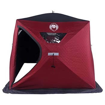 6: Nordic Legend Wide Bottom 3-4 Man Thermal Ice Shelter