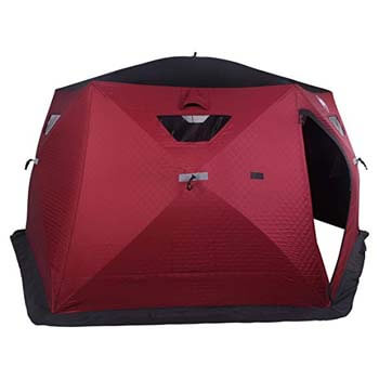 9: Nordic Legend Hex-Hub 6 to 8 Man Portable Thermal Ice Shelter