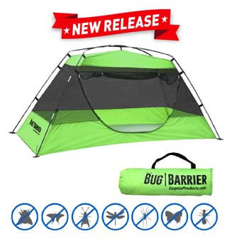 8: EasyGO Products Bug Barrier Mosquito Bug Tent