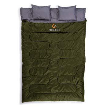 4: Gideon Waterproof Double Sleeping Bag