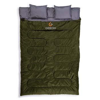 4: Gideon Waterproof Double Sleeping Bag