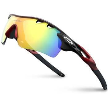 6: RIVBOS 801 Polarized Sports Sunglasses Sun Glasses