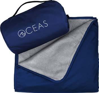 7: Oceas Outdoor Waterproof Blanket Warm Fleece Great