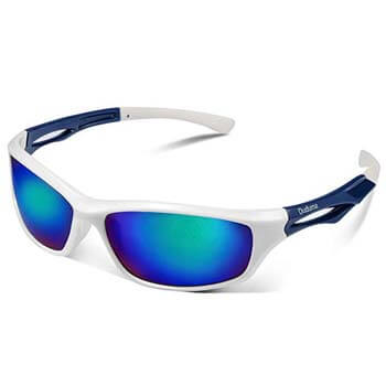 2: Duduma Polarized Sports Sunglasses for Running Cycling Fishing Golf Tr90 Unbreakable Frame