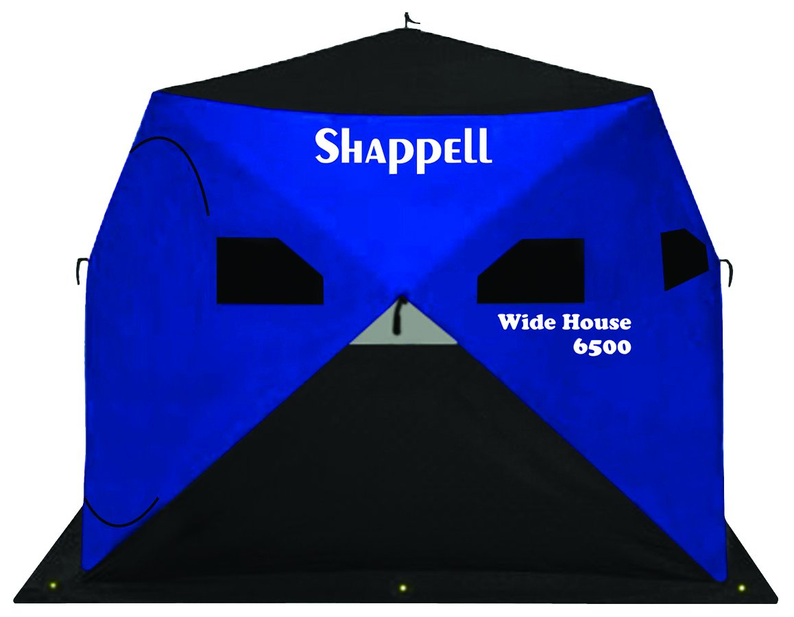 7: Shappell WH6500 Wide House 6500 Ice Shelter