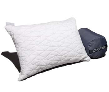1: Coop Home Goods - Adjustable Travel/Camping Pillow