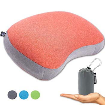 5: Leisure Co Ultralight Inflatable Camping Pillow