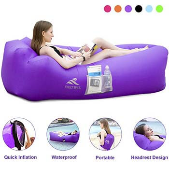 3: FRETREE Inflatable Lounger Air Sofa Hammock