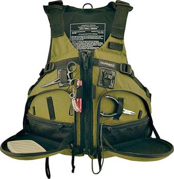 6. Stohlquist Fisherman Personal Floatation Device