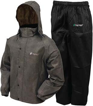 1. Frogg Toggs Men's Classic All-Sport Waterproof Breathable Rain Suit