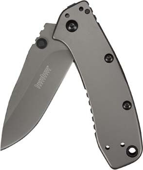 5. Kershaw Cryo II Pocket Knife, 3.25 Inch Everyday Carry Blade with Pocketclip, Multiple Variations