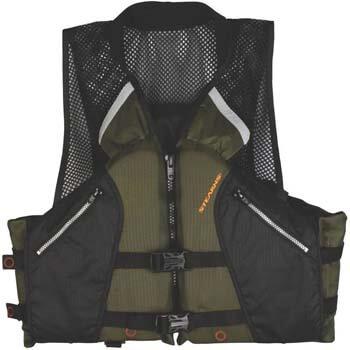 3. Stearns Comfort Series Collared Angler Vest