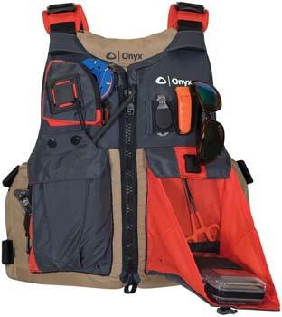 1. ONYX Kayak Fishing Life Jacket