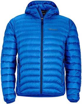 5. Marmot Men's Tullus Hoody Winter Puffer Jacket, Fill Power 600