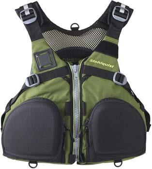 8. Stohlquist Fisherman Fishing Kayak Life Jacket