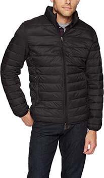 1. Amazon Essentials Men's Lightweight Water-Resistant Packable Puffer Jacket