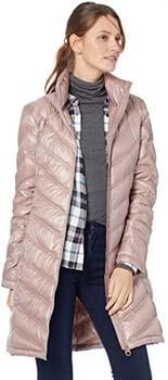 8. Calvin Klein Essential Packable Walker Coat