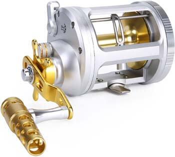 6. One Bass Fishing Reels Level Wind Trolling Reel Conventional Jigging Reel