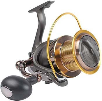 7. Dr.Fish Saltwater 10000/12000 Spinning Reel for Surf Fishing