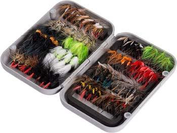 9. Bassdash Fly Fishing Flies Kit Fly Assortment Trout Bass Fishing
