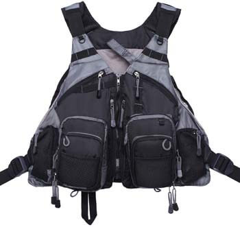 9. Kylebooker Fly Fishing Vest Pack Adjustable for Men and Women