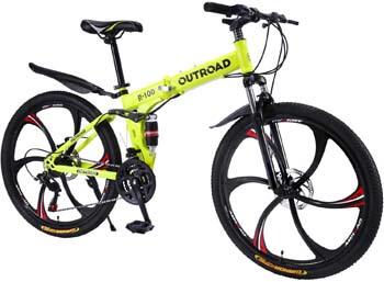 9. Max4out Mountain Bike Folding Bikes