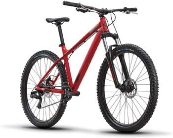 4. Diamondback Bicycles Hook 27.5 Wheel Mountain Bike, Red, Small