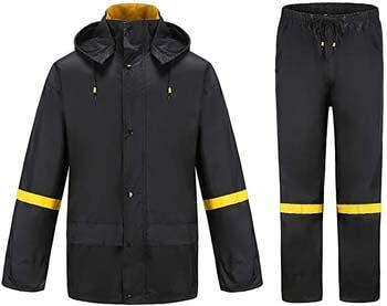 5. Ourcan Rain Suits for Men Fishing Rain Gear for Men Waterproof Rain Coats