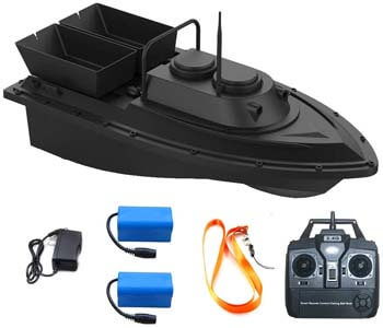 1. Meknic RC Fishing Bait Boat 2020 Update 2kg Loading 2pcs Tanks and 2pcs Batteries