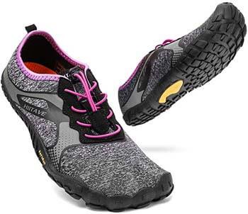 8. ALEADER hiitave Unisex Minimalist Trail Barefoot Runners Cross Trainers Hiking Shoes