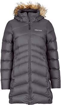5. Marmot Women's Montreal Knee-Length Down Puffer Coat, Fill Power 700