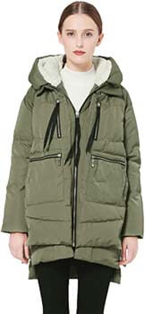 1. Orolay Women's Thickened Down Jacket