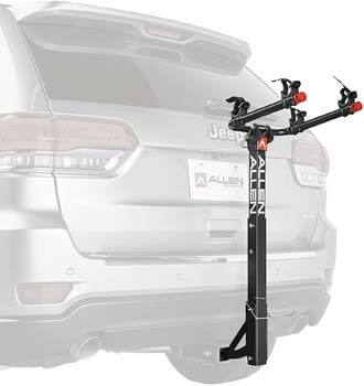 2. Allen Sports 2-Bike Hitch Racks for 1 1/4 in. and 2 in. Hitch