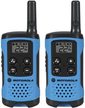 9. Motorola T100 Talkabout Radio, 2 Pack