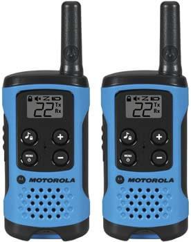 9. Motorola T100 Talkabout Radio, 2 Pack