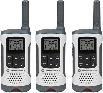 4. Motorola T260TP Talkabout Radio