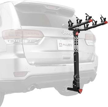 5. Allen Sports 3-Bike Hitch Racks for 1 1/4 in. and 2 in. Hitch