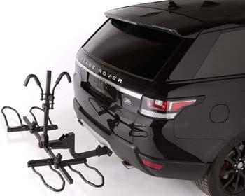 "10. KAC Overdrive Sports K2 2"" Hitch Mounted Rack 2-Bike Capacity"