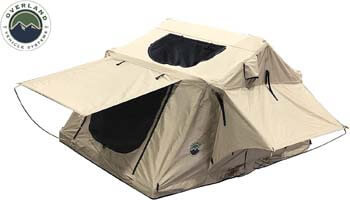 5. TMBK 3 Person Roof Top Tent with Rain Fly Jeep, Truck & Car Roof Top Tent RT
