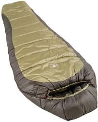 1. Coleman 0°F Mummy Sleeping Bag for Big and Tall Adults
