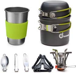 5. Odoland Camping Cookware Stove