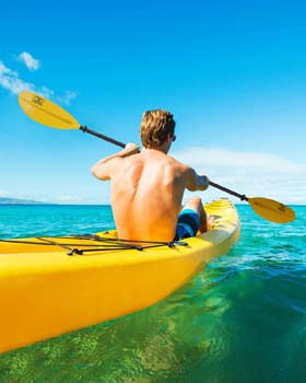 9. OCEANBROAD Alloy Kayak Paddle