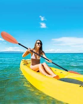 7. OCEANBROAD Kayak Paddle, Premium Carbon Shaft Kayaking Boating Oar