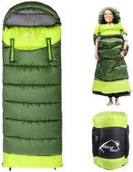 9. Beacon Pet 0 Degree Wearable Sleeping Bag