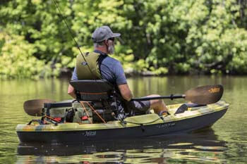 5. Poseidon Angler Fishing Lightweight Kayak Paddle