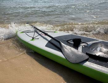 3. YVLEEN Alloy SUP Paddle, Adjustable Stand Up Paddle Board Paddle