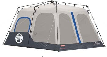 9. Coleman 8-Person Tent | Instant Family Tent