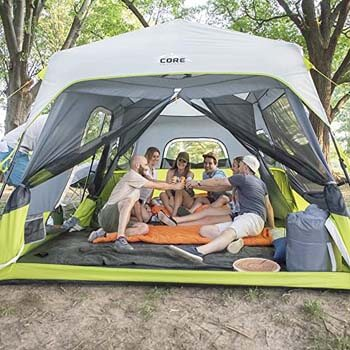 3. CORE 9 Person Instant Cabin Tent - 14' x 9'